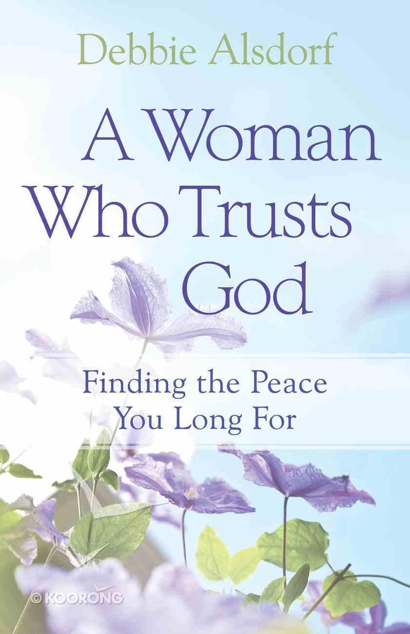 A Woman Who Trusts God eBook