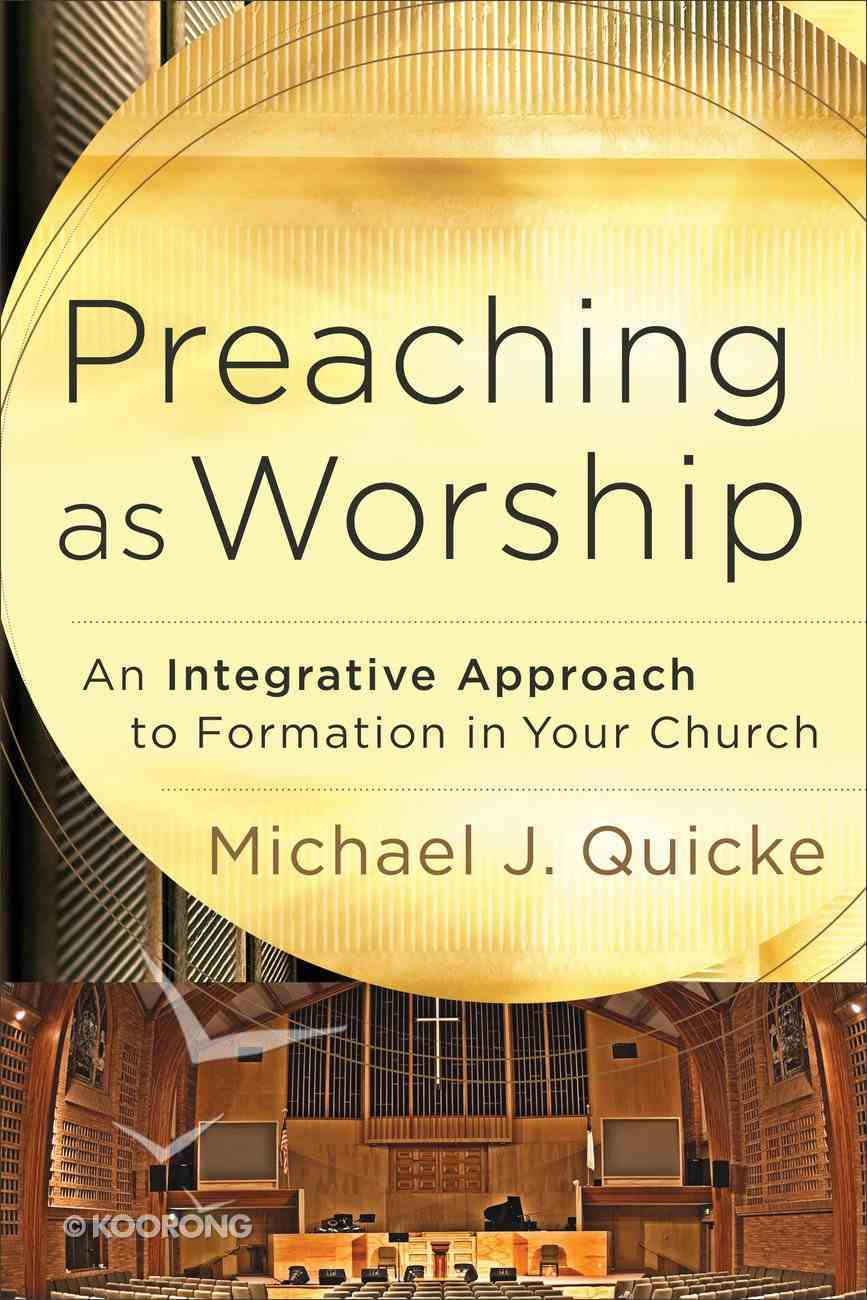 Preaching as Worship eBook
