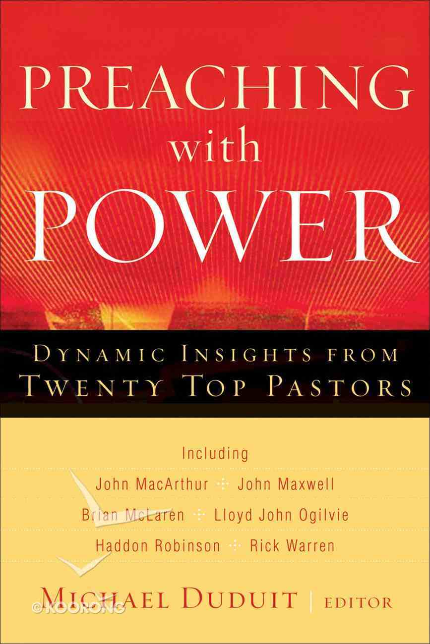 Preaching With Power eBook
