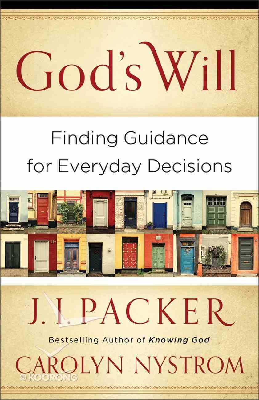 God's Will eBook