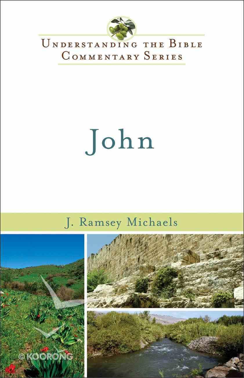 Nibc NT #04: John (#04 in New International Biblical Commentary New Testament Series) eBook