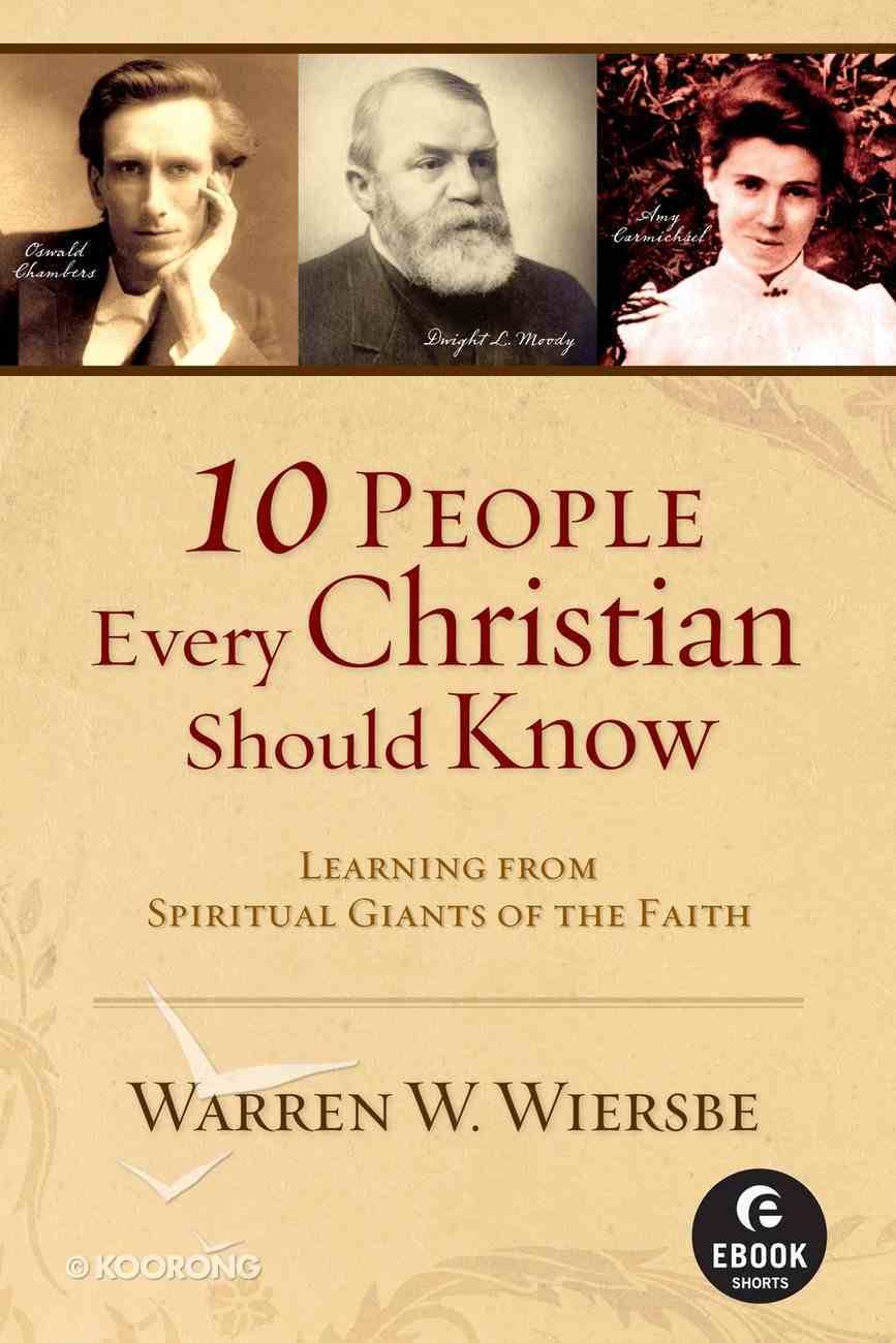 10 People Every Christian Should Know (101 Questions About The Bible Kingstone Comics Series) eBook