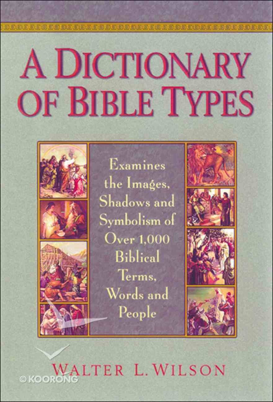 A Dictionary of Bible Types eBook
