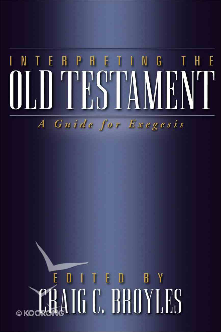 Interpreting the Old Testament eBook