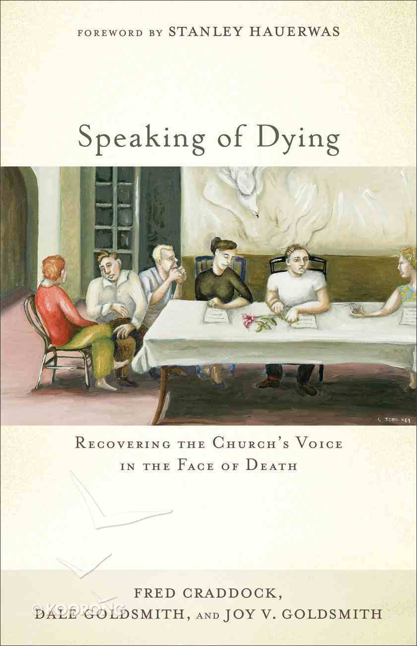 Speaking of Dying eBook