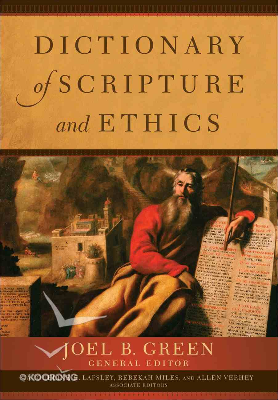 Dictionary of Scripture and Ethics eBook