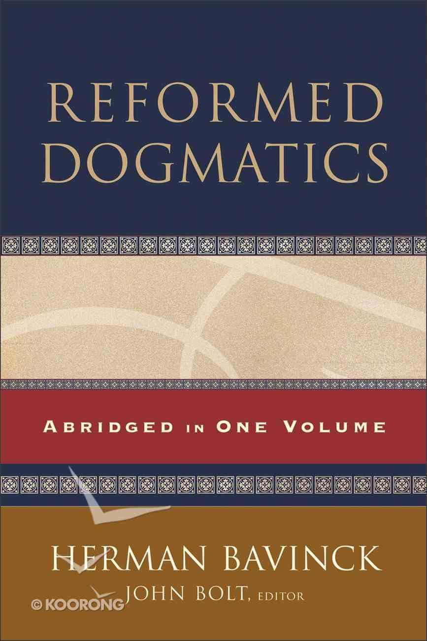 Reformed Dogmatics eBook