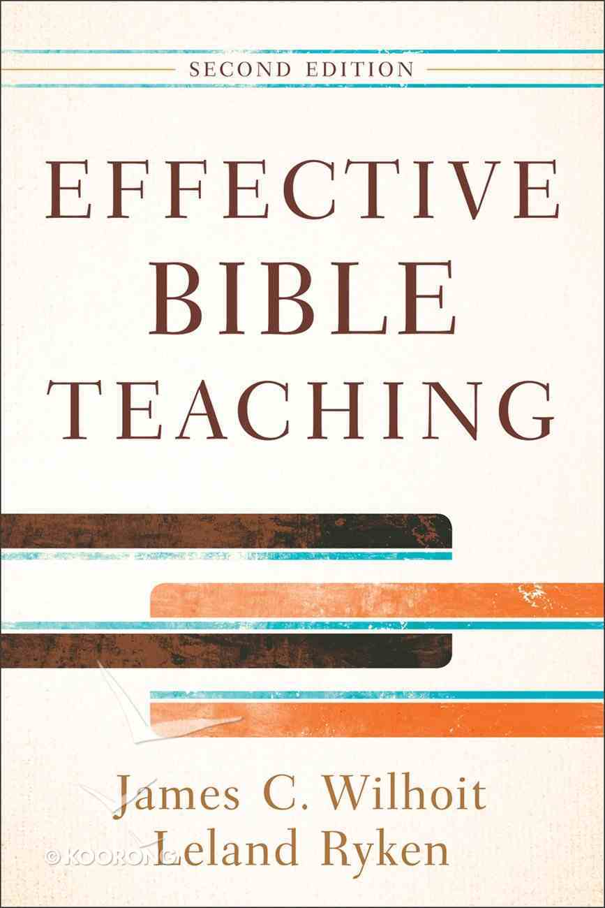 Effective Bible Teaching (Second Edition) eBook