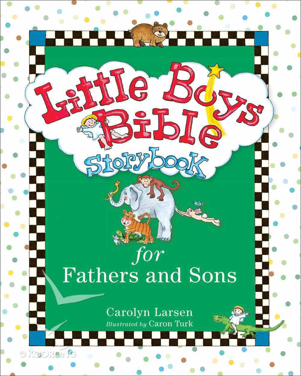 Little Boys Bible Storybook For Fathers and Sons eBook