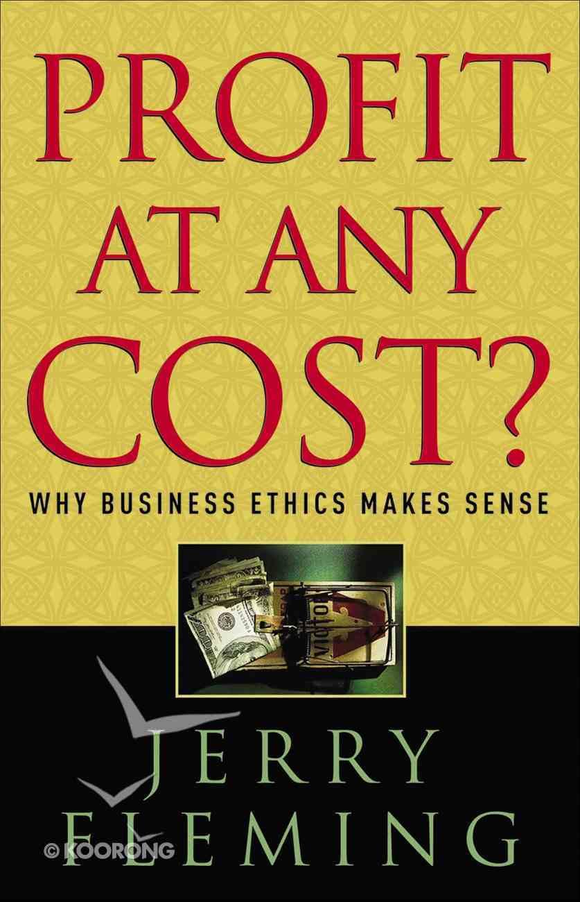 Profit At Any Cost? eBook