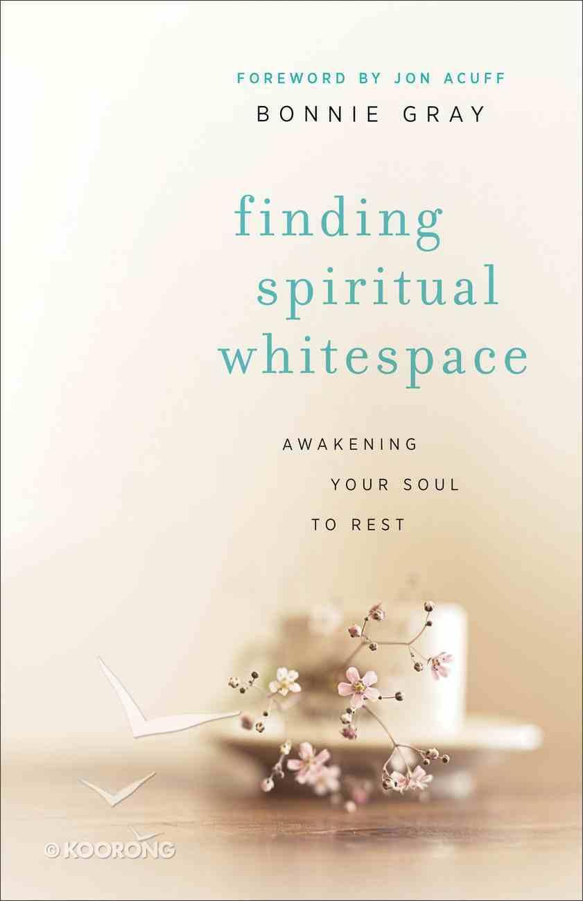 Finding Spiritual Whitespace eBook