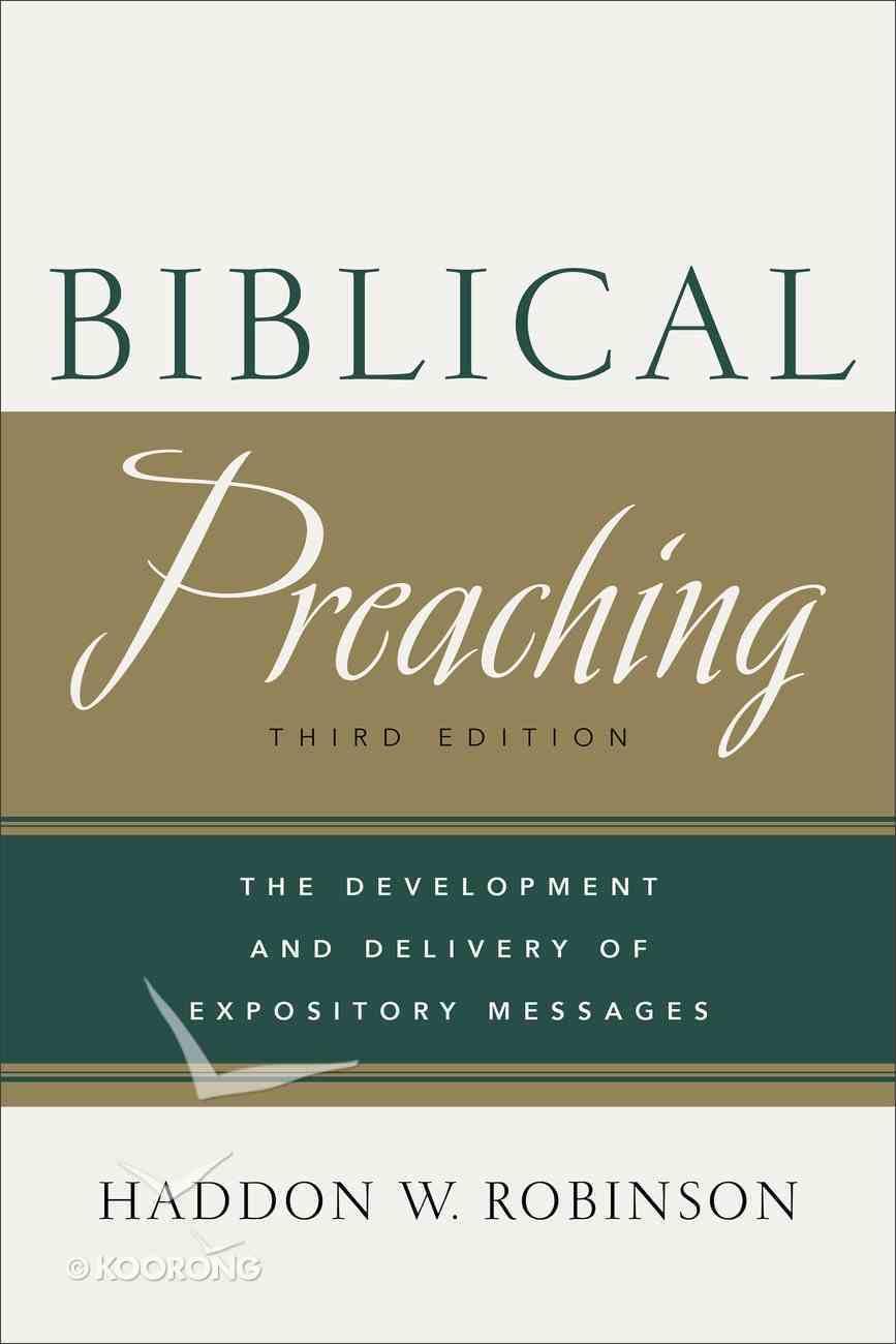 Biblical Preaching eBook