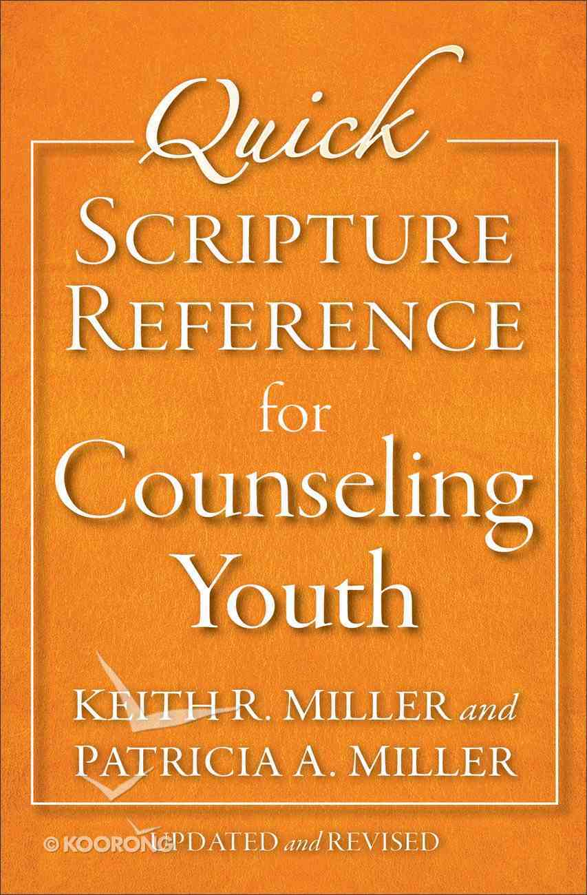 Quick Scripture Reference For Counseling Youth eBook
