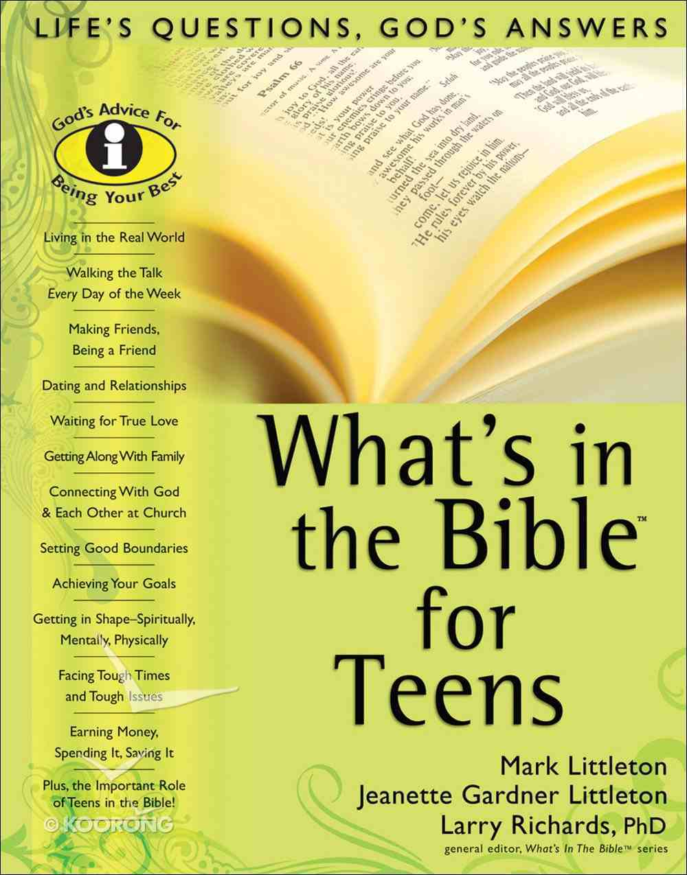 What's in the Bible For Teens eBook