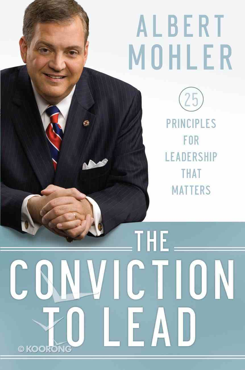 The Conviction to Lead eBook