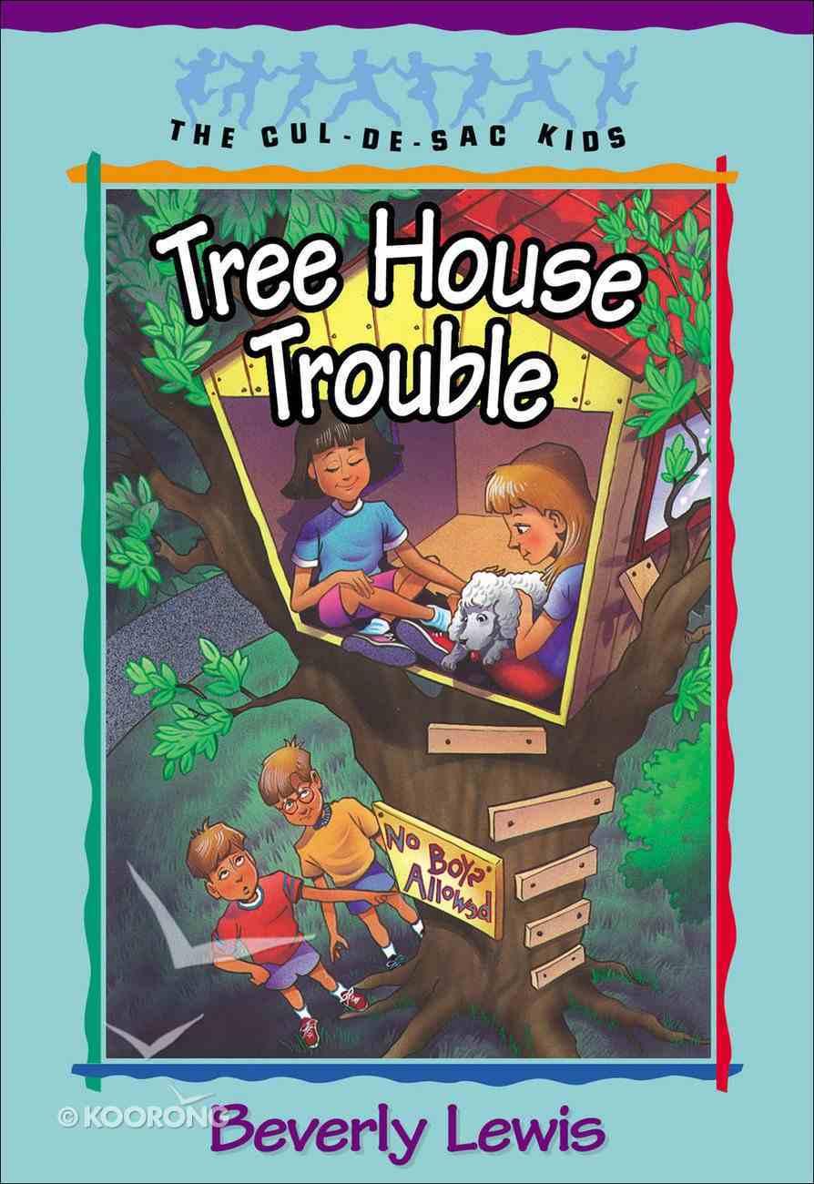Tree House Trouble (#16 in Cul-de-sac Kids Series) eBook
