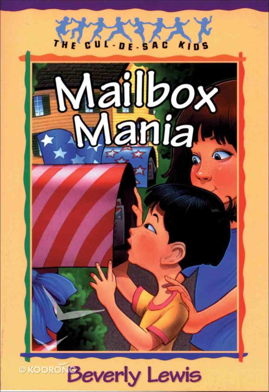 Mailbox Mania (#09 in Cul-de-sac Kids Series) eBook