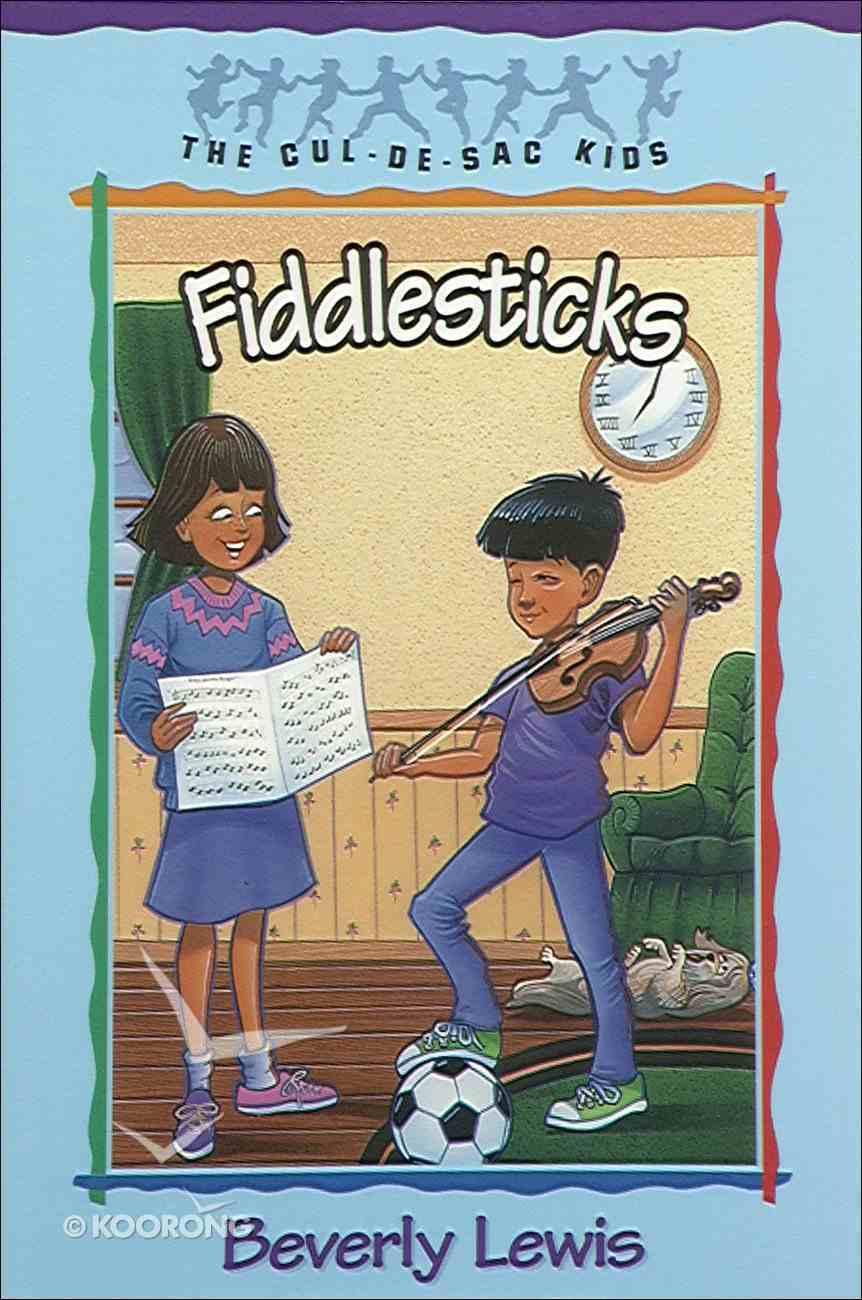 Fiddlesticks (#11 in Cul-de-sac Kids Series) eBook