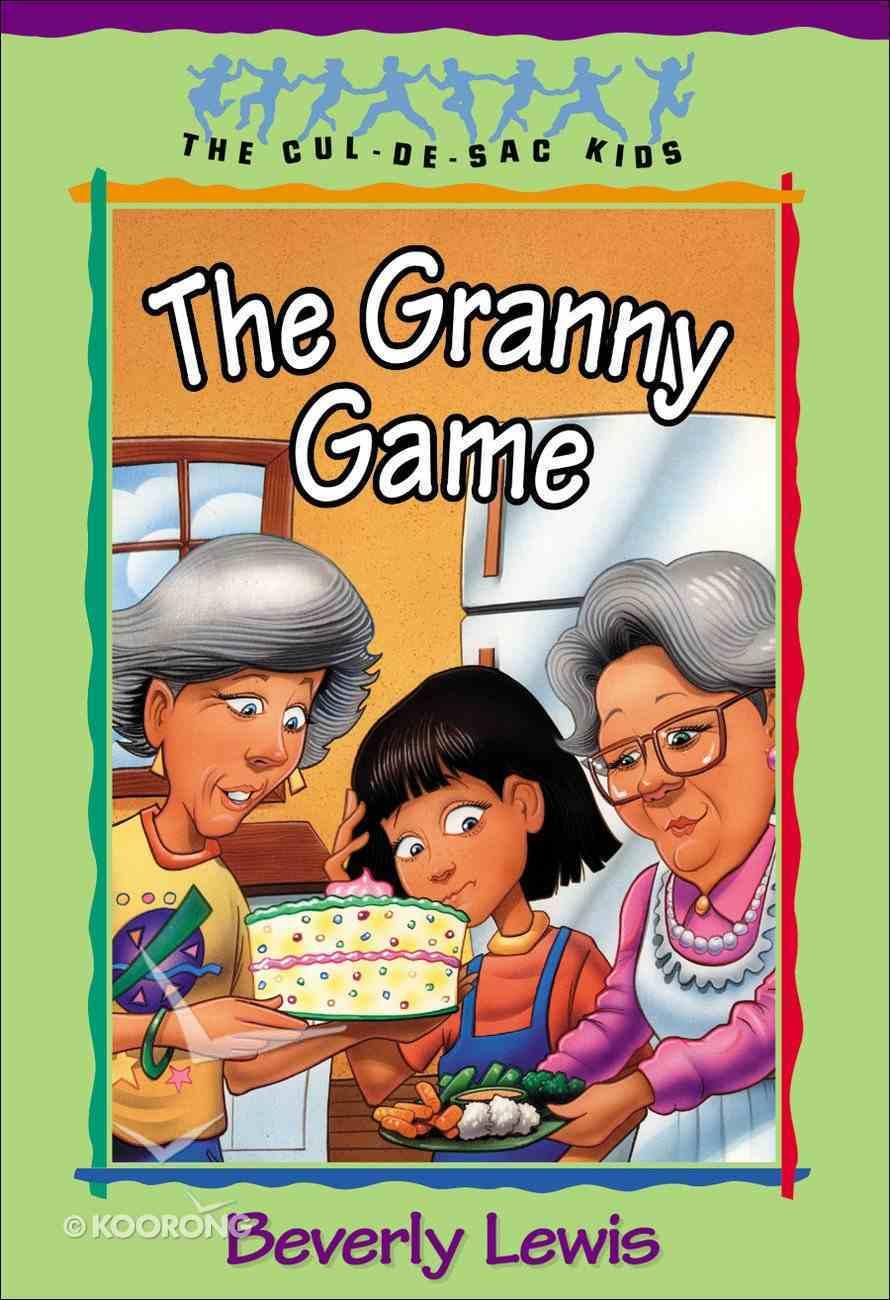 The Granny Game (#20 in Cul-de-sac Kids Series) eBook