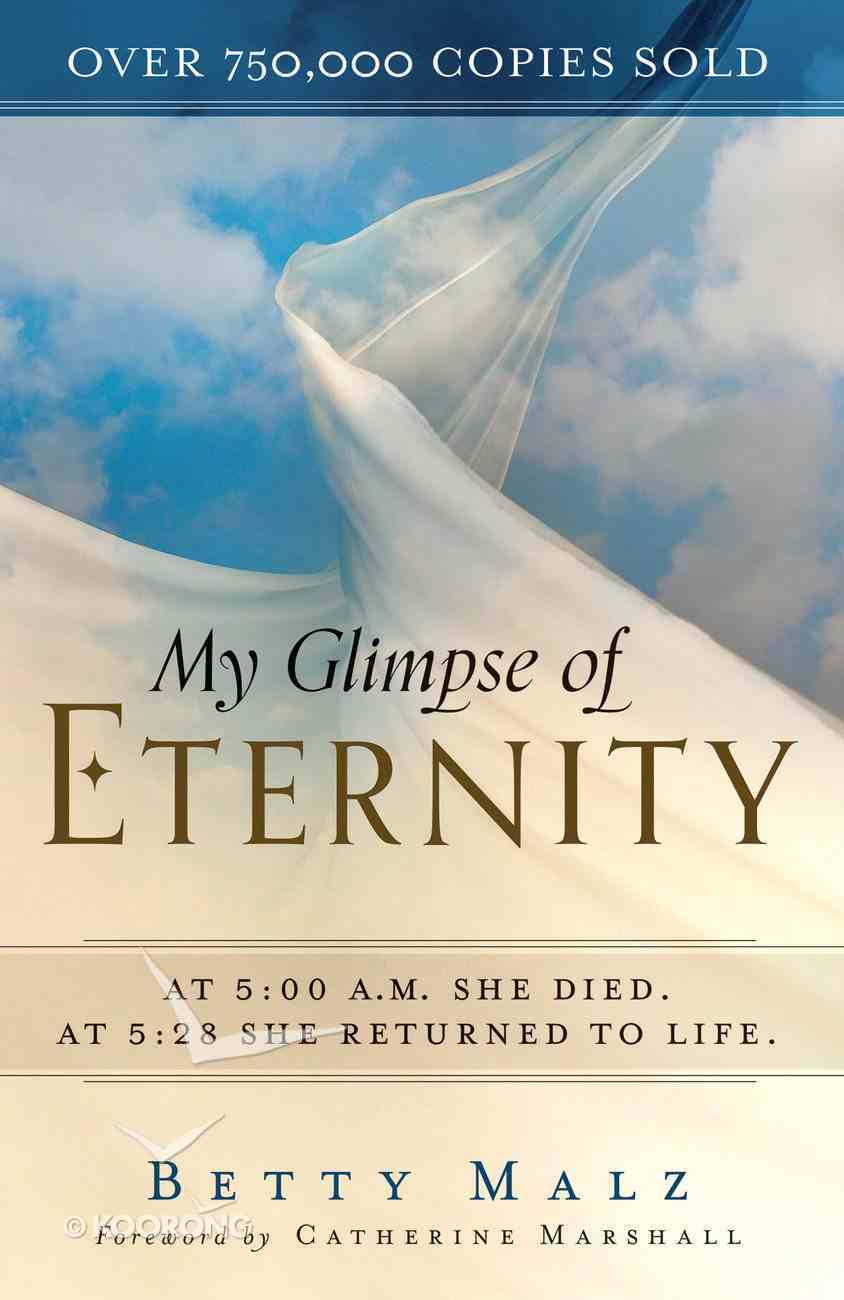 My Glimpse of Eternity eBook