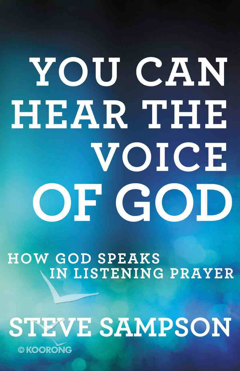 You Can Hear the Voice of God eBook