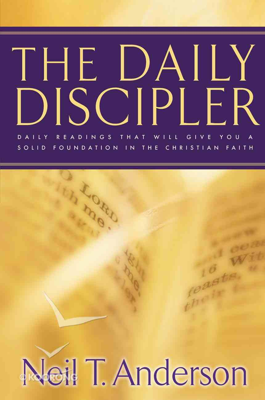 The Daily Discipler eBook