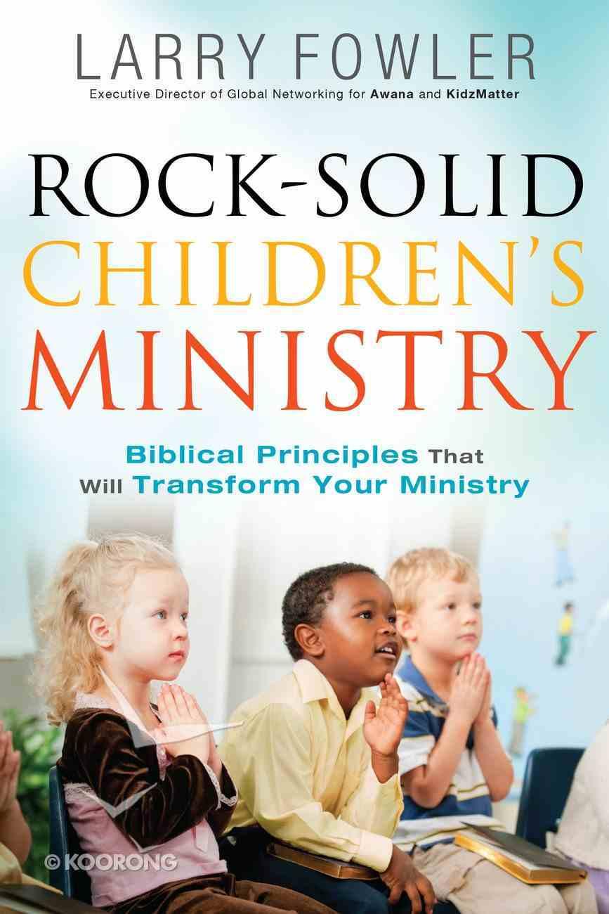 Rock-Solid Children's Ministry eBook