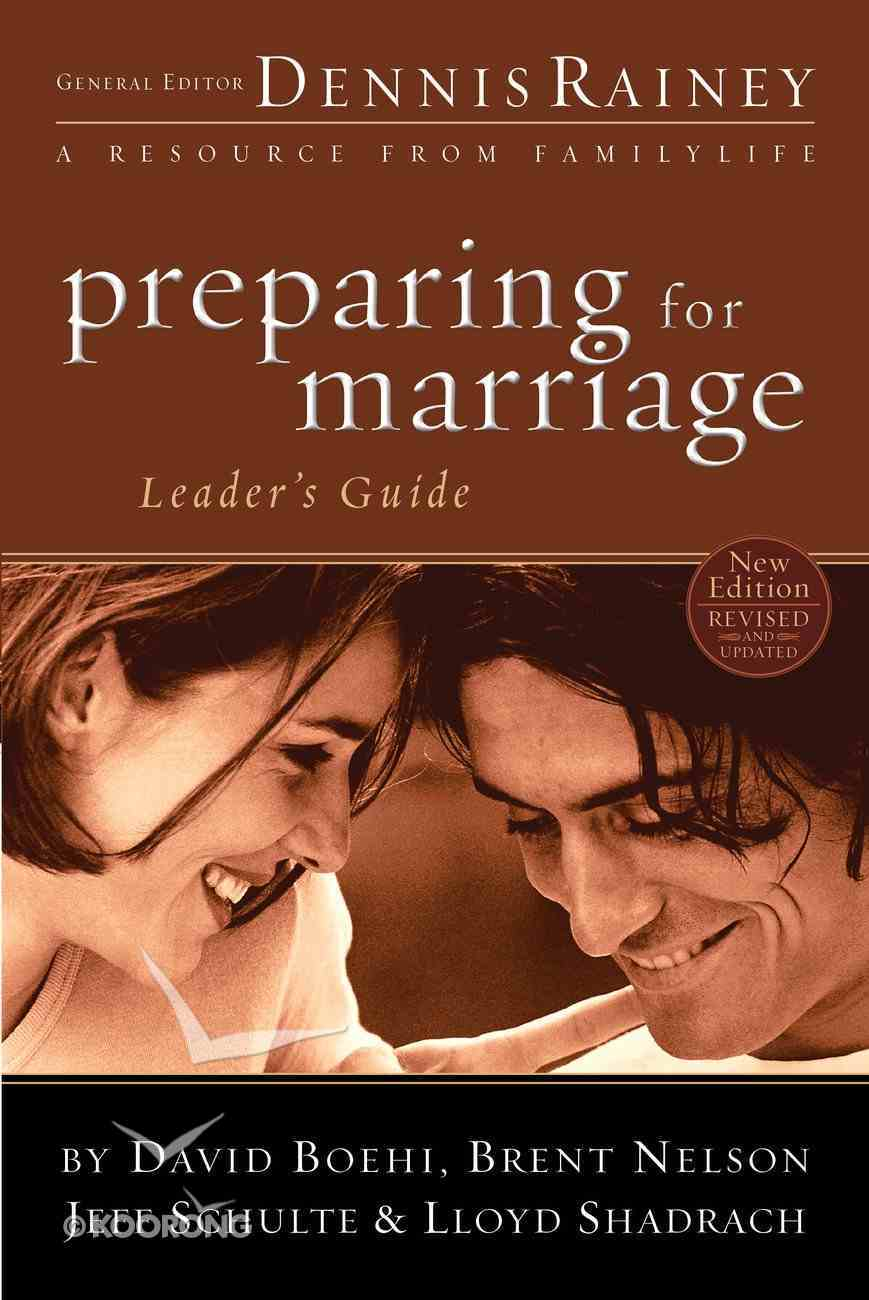 Preparing For Marriage Leader's Guide eBook
