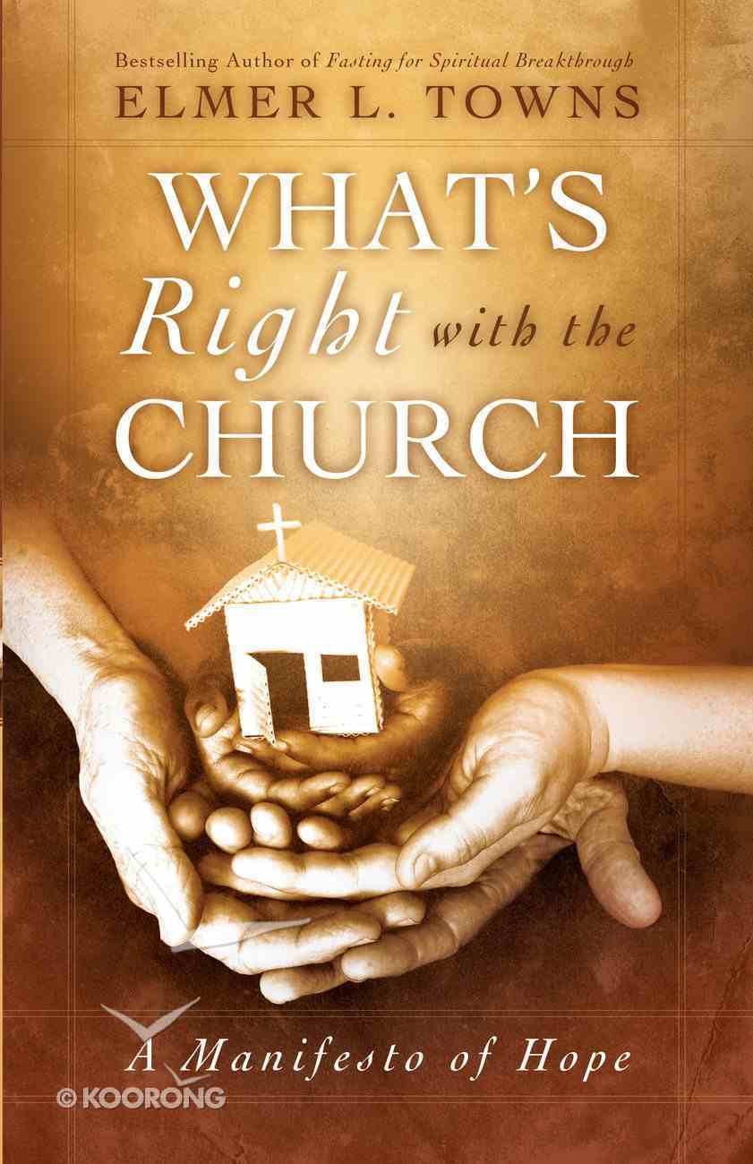 What's Right With the Church eBook