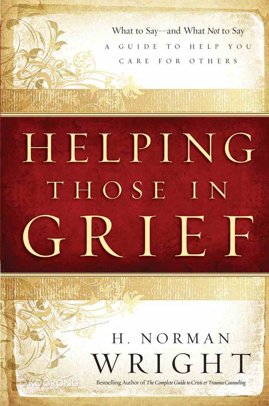 Helping Those in Grief eBook