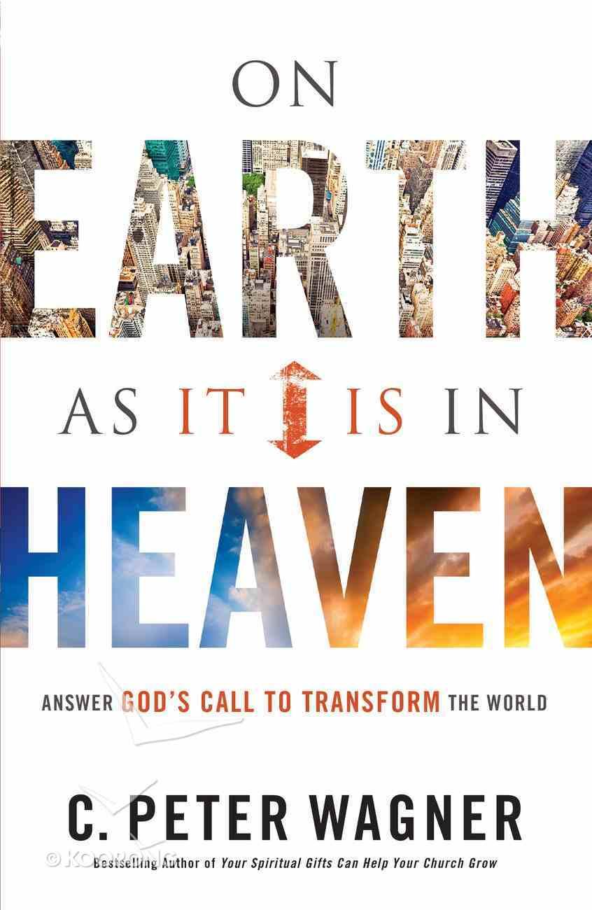 On Earth as It is in Heaven eBook