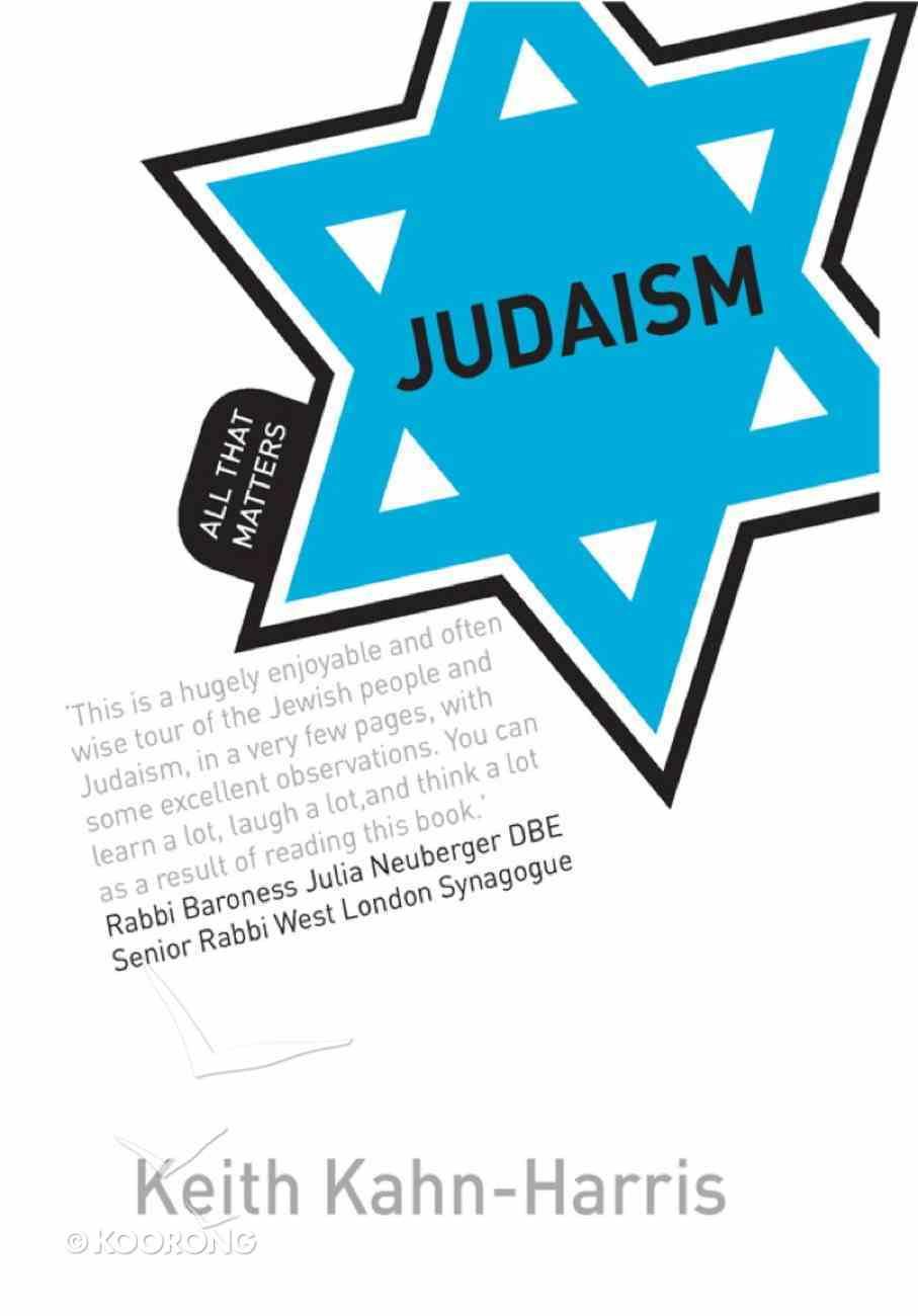 Judaism: All That Matters eBook