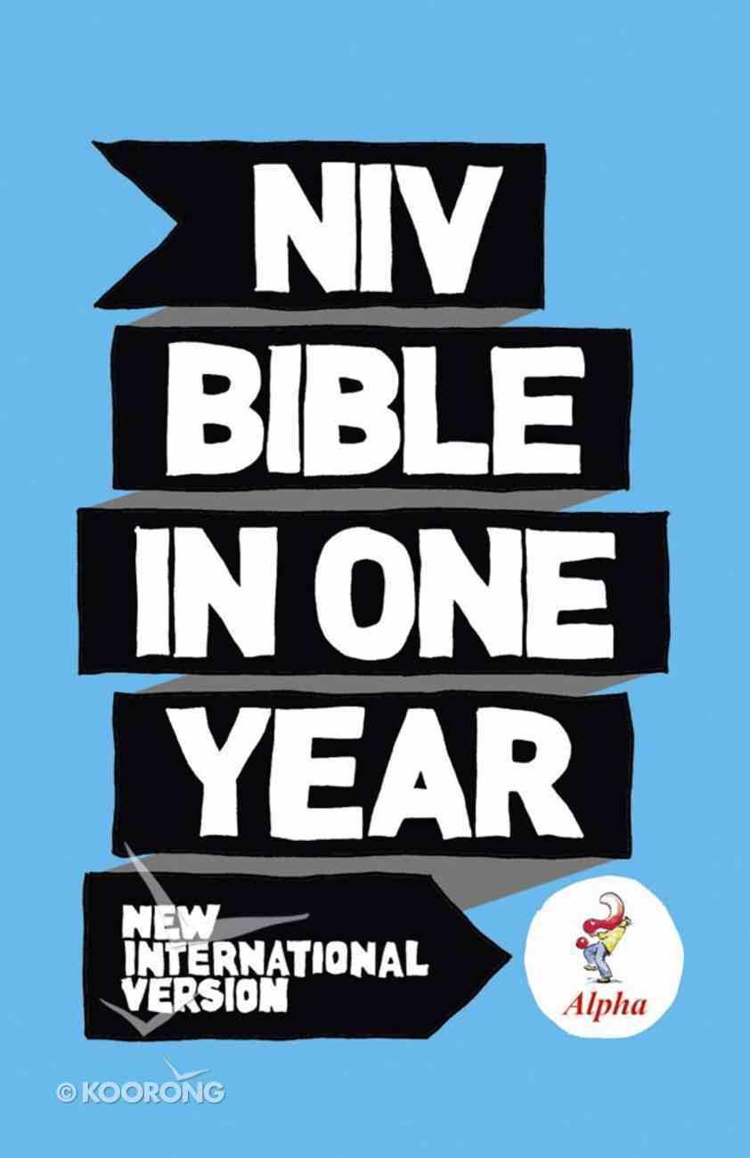 NIV Alpha Bible in One Year eBook