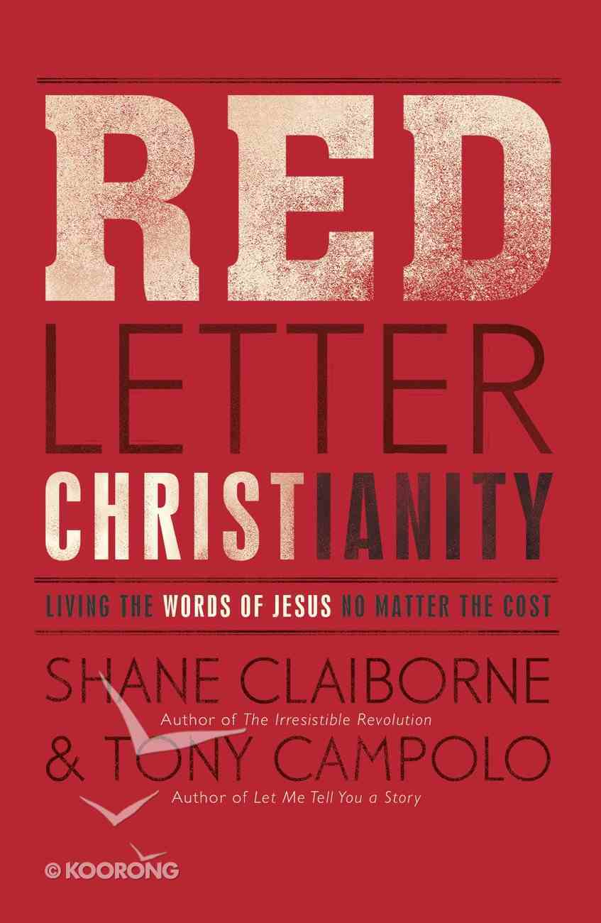 Red Letter Christianity eBook