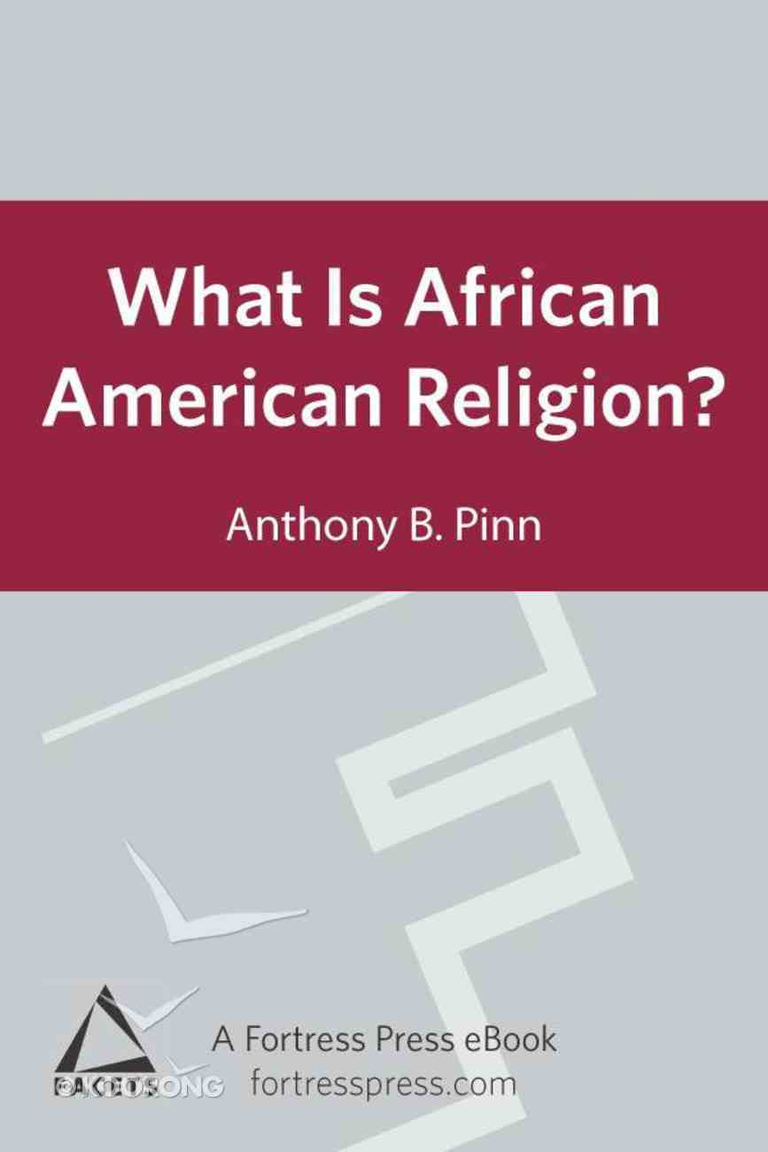 What is African American Religion? eBook