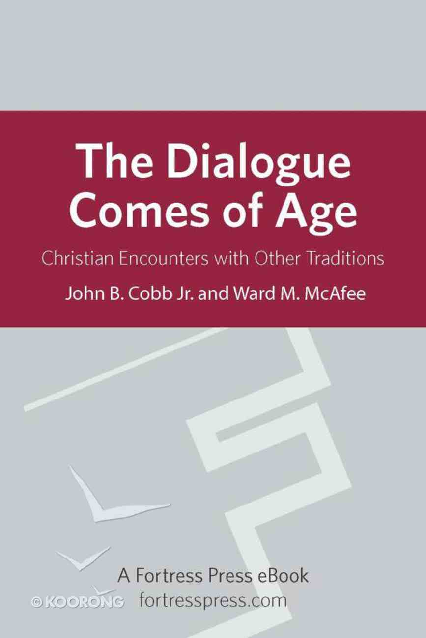 The Dialogue Comes of Age eBook