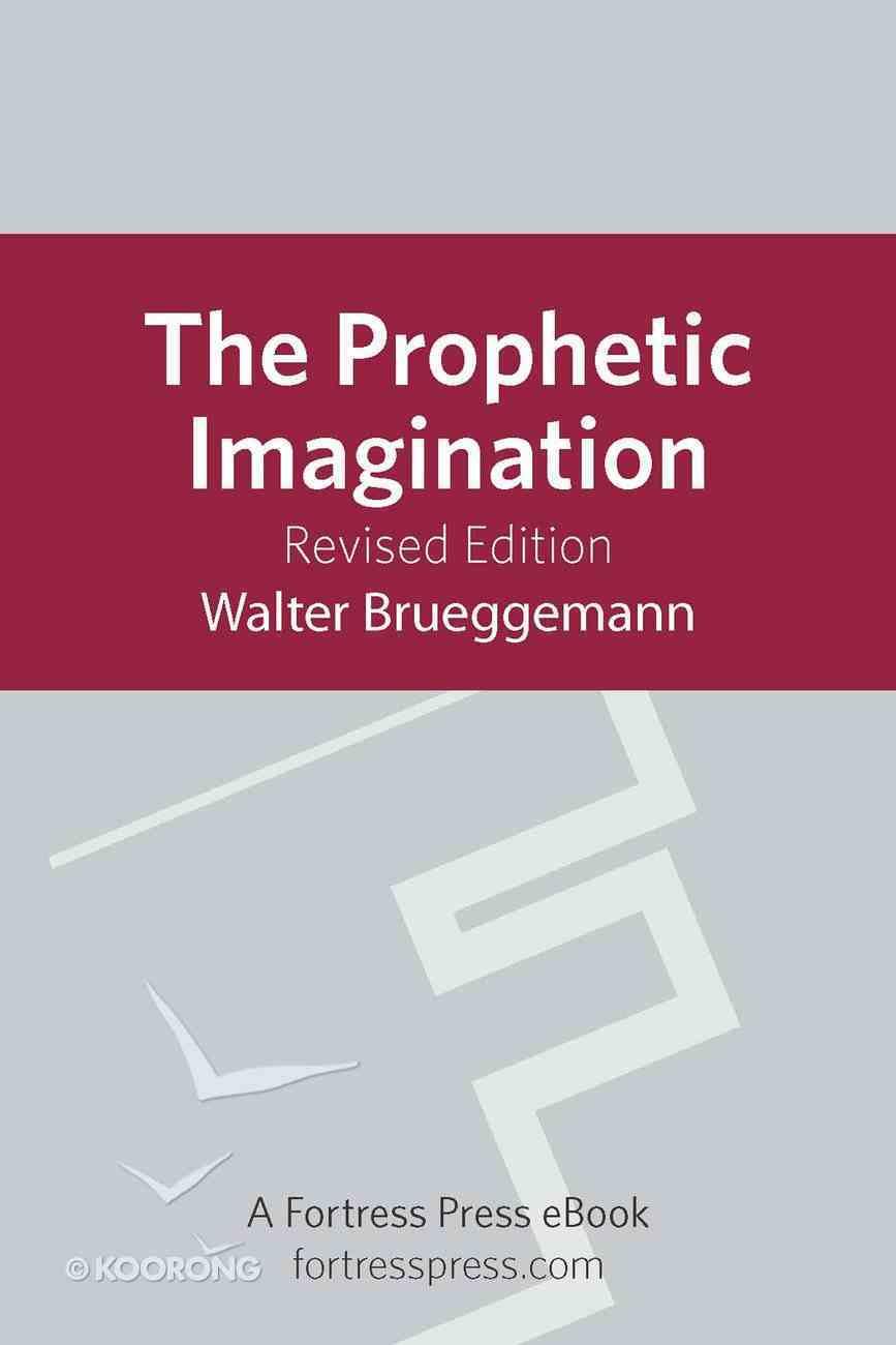 Prophetic Imagination eBook
