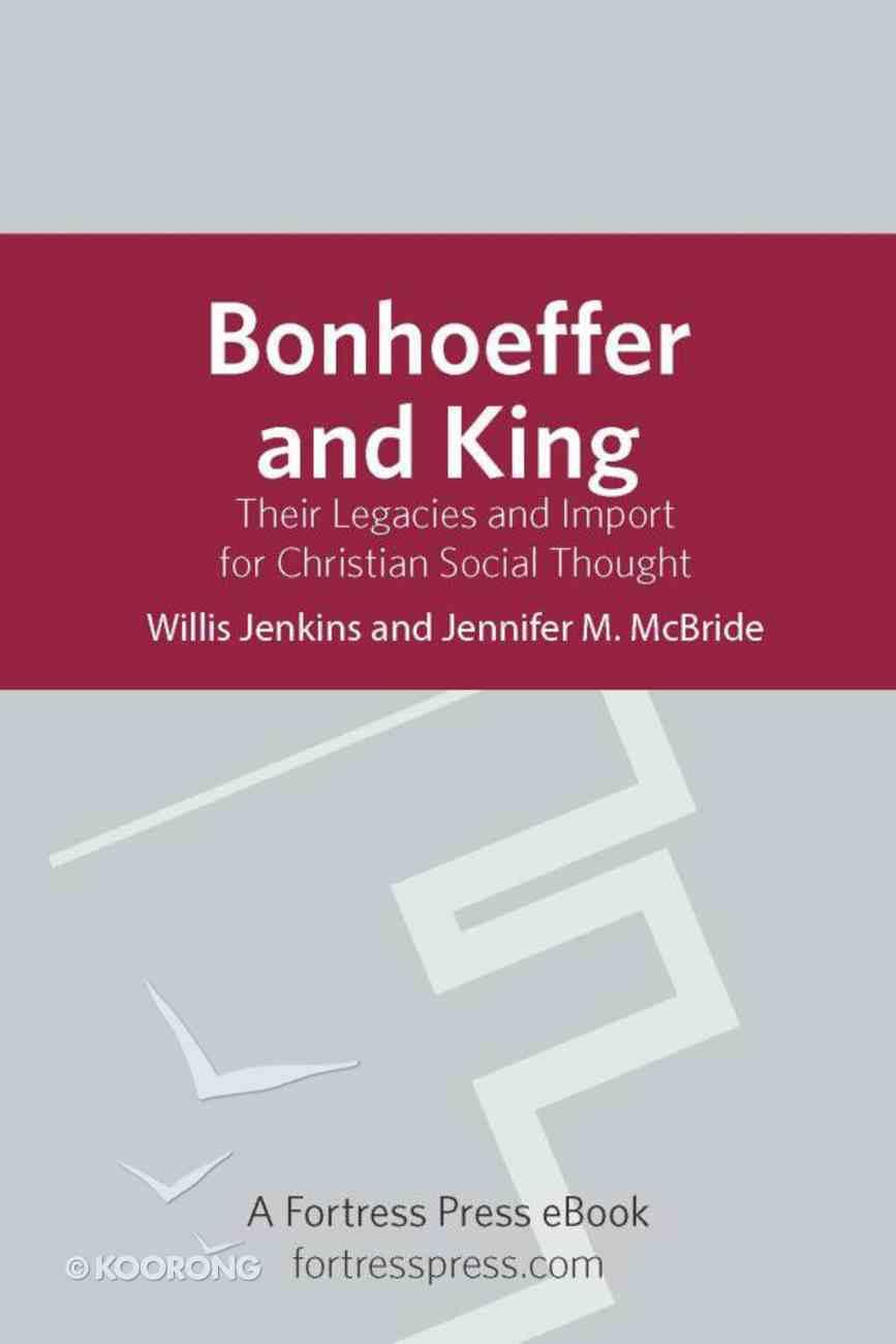 Bonhoeffer and King eBook
