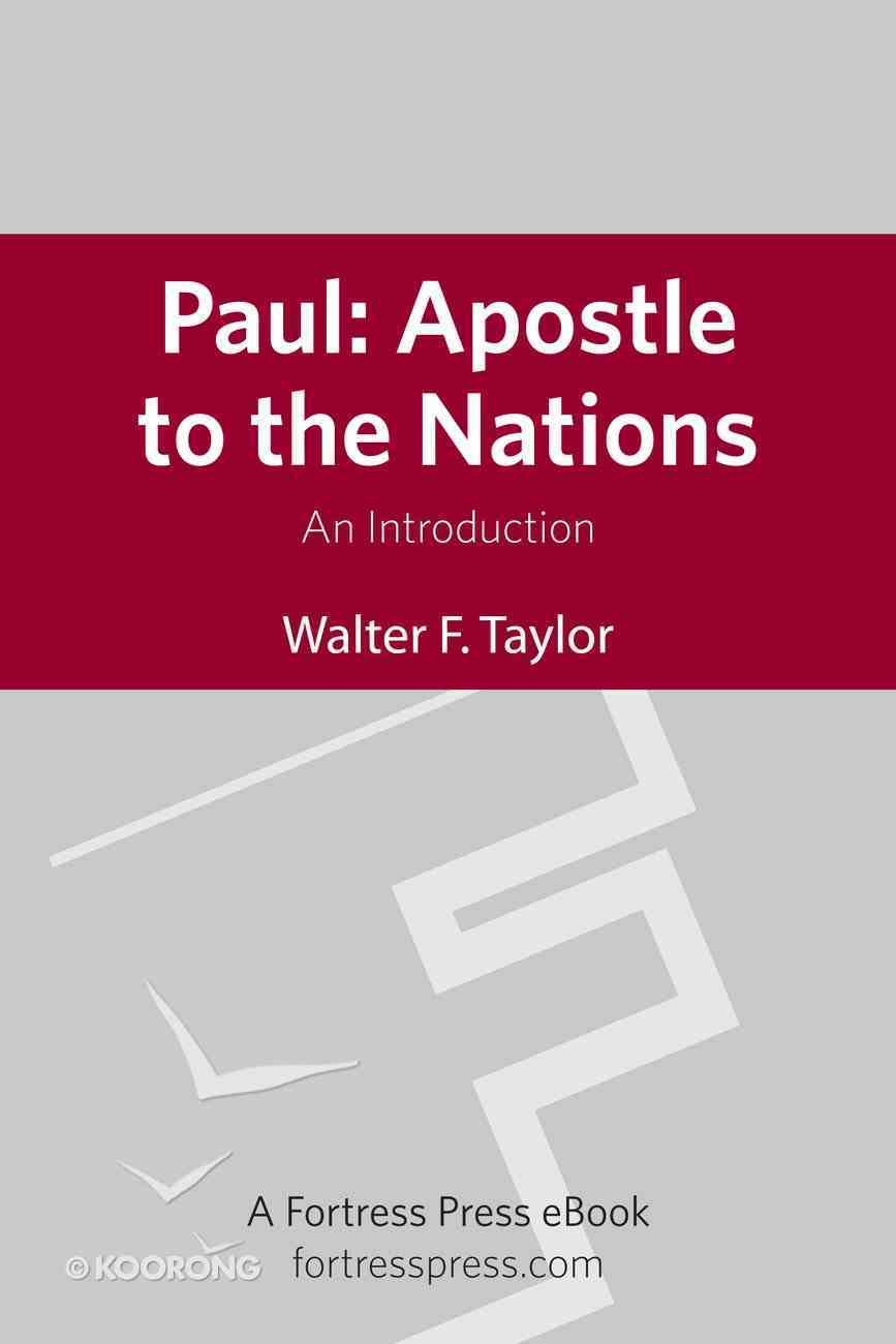 Paul: Apostle to the Nations eBook