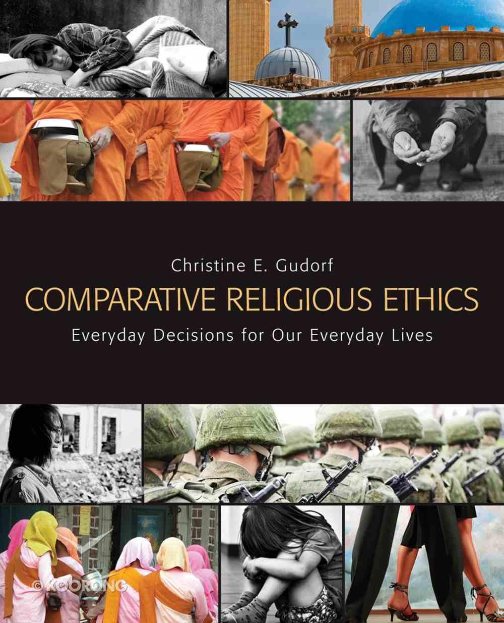 Comparative Religious Ethics eBook