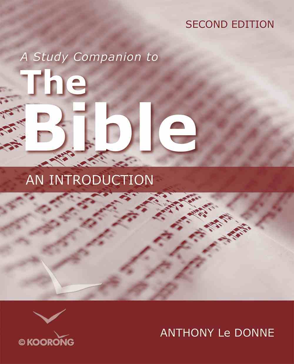 A Study Companion to the Bible eBook