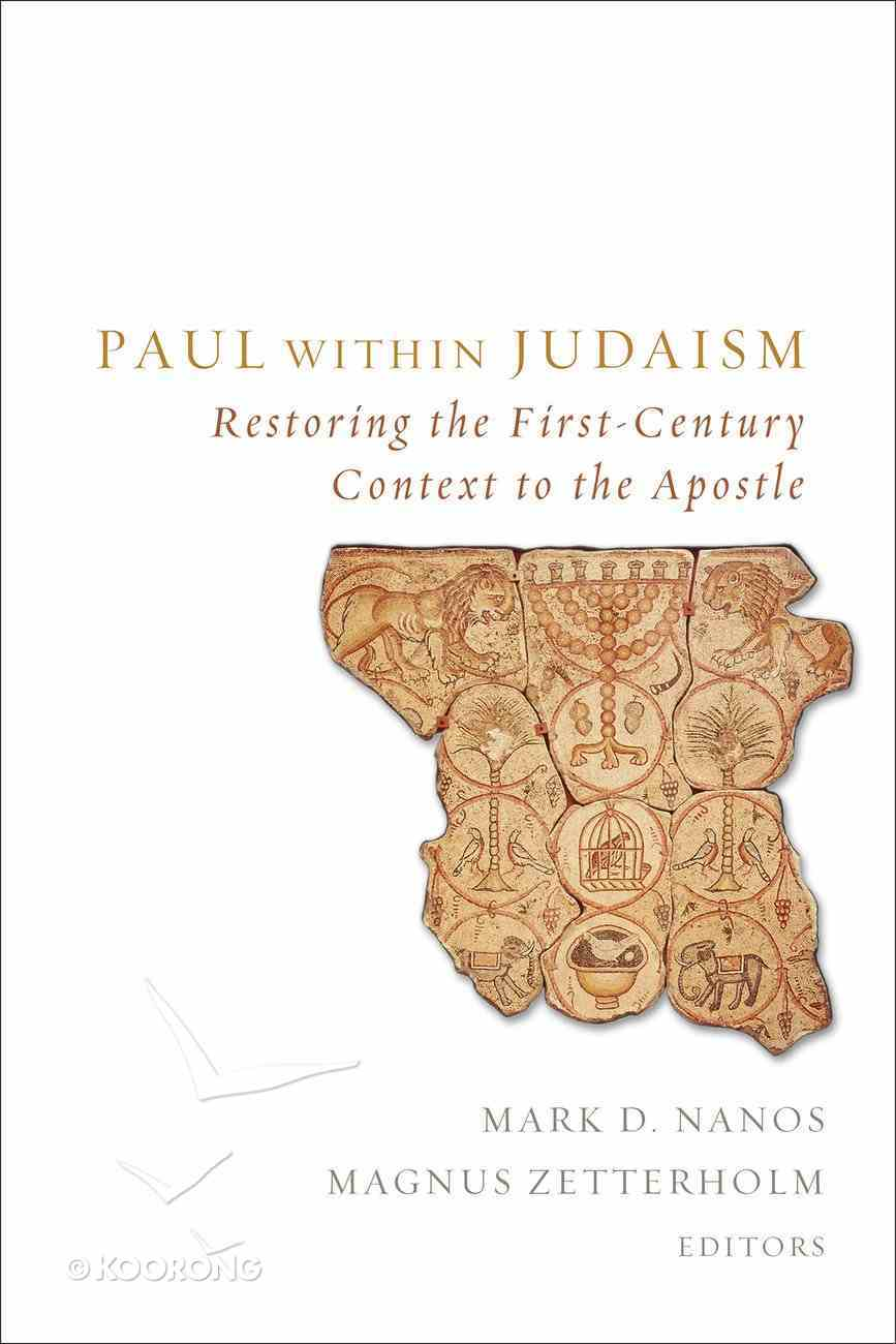Paul Within Judaism eBook