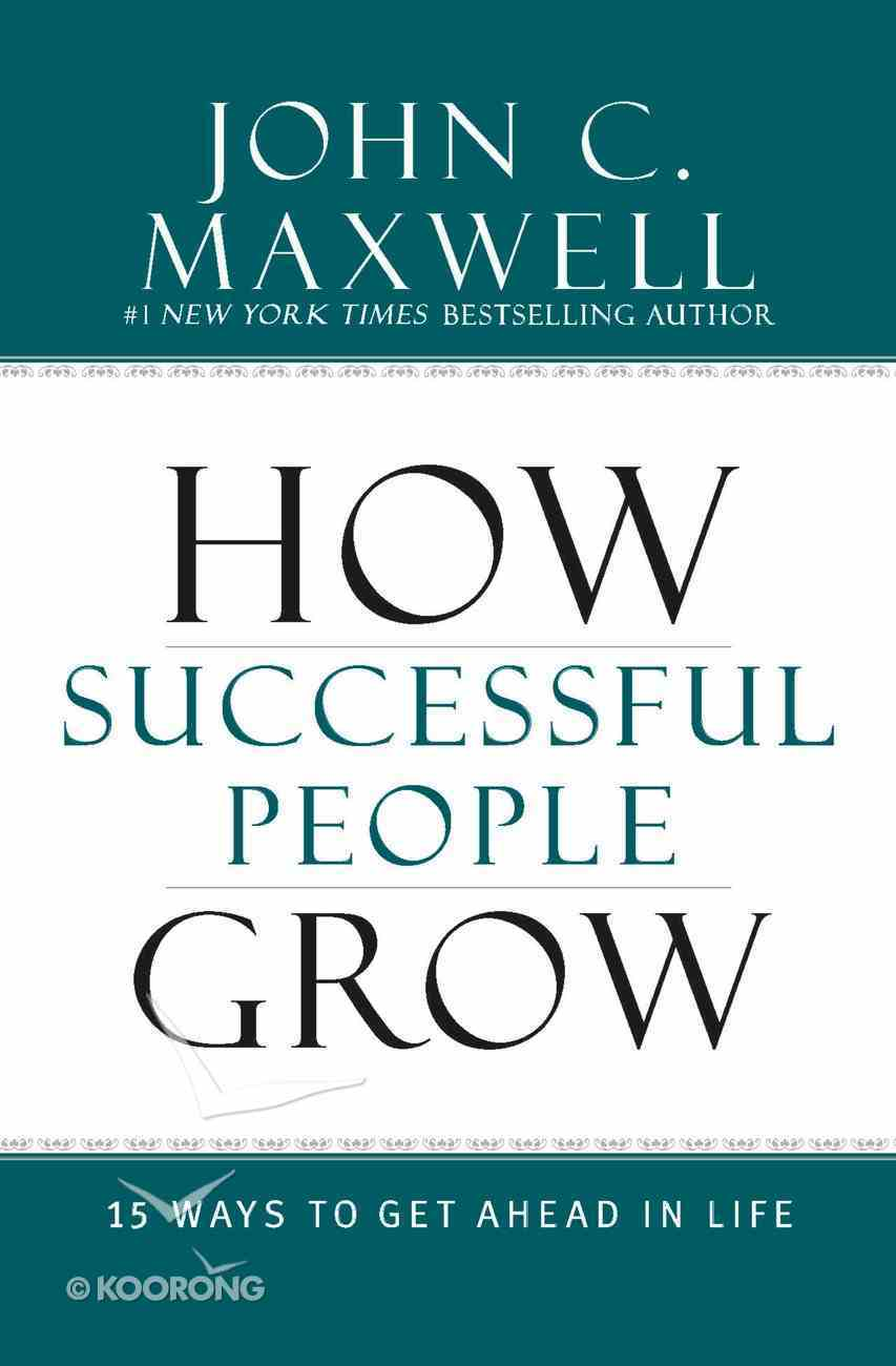 How Successful People Grow eBook