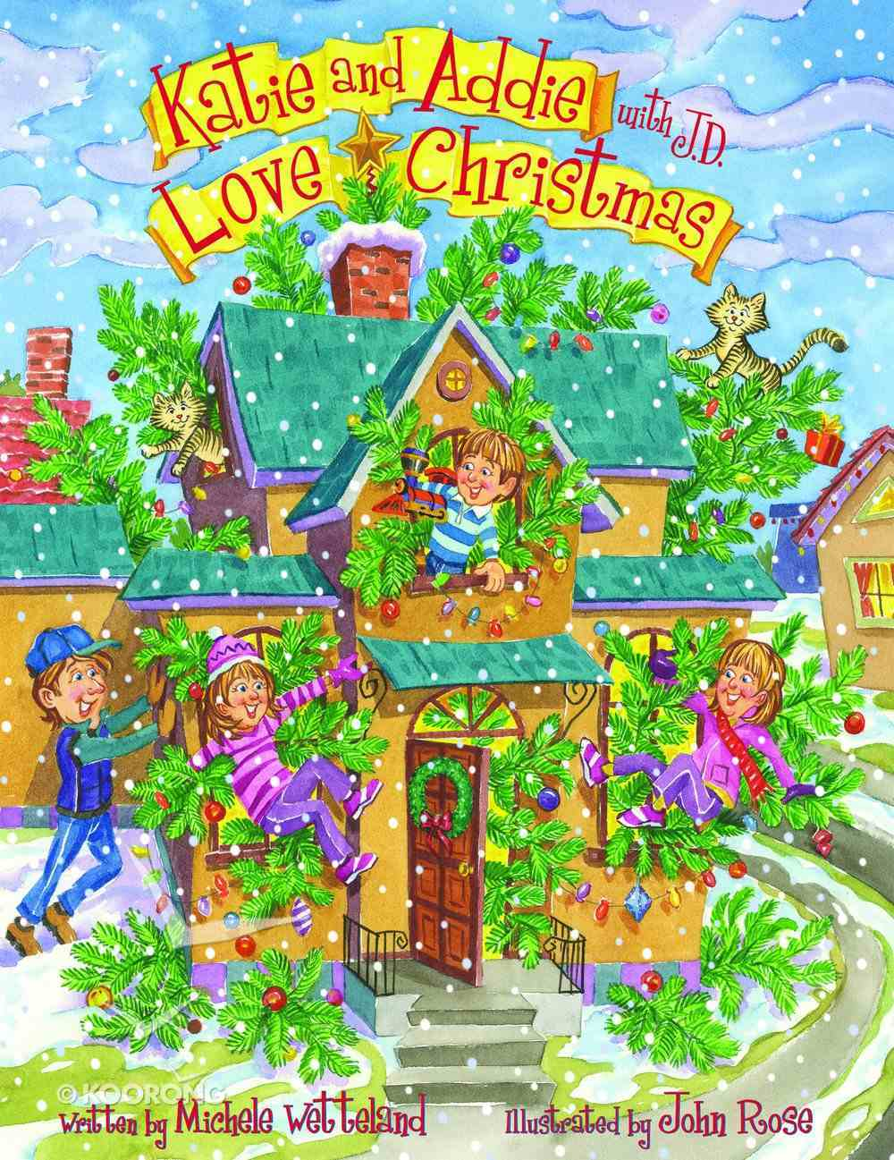 Katie and Addie With J.D. Love Christmas eBook