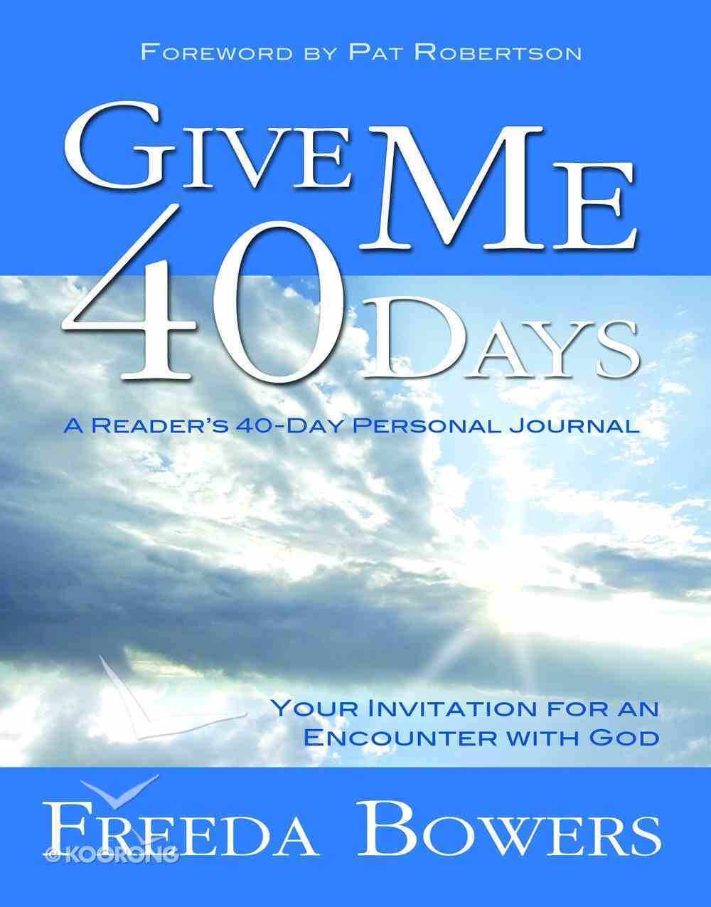Give Me 40 Days eBook