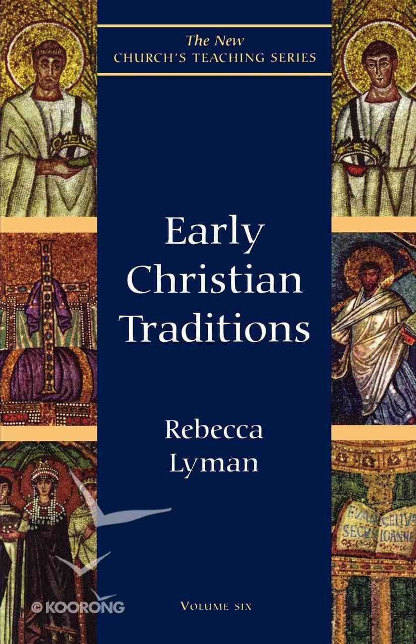 Early Christian Traditions eBook