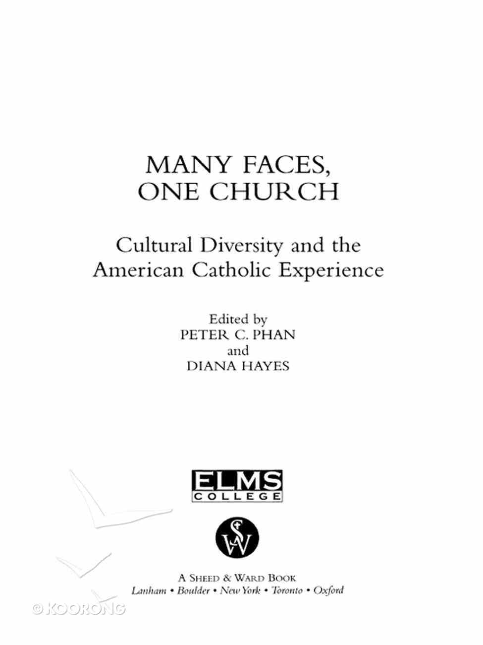 Many Faces, One Church eBook