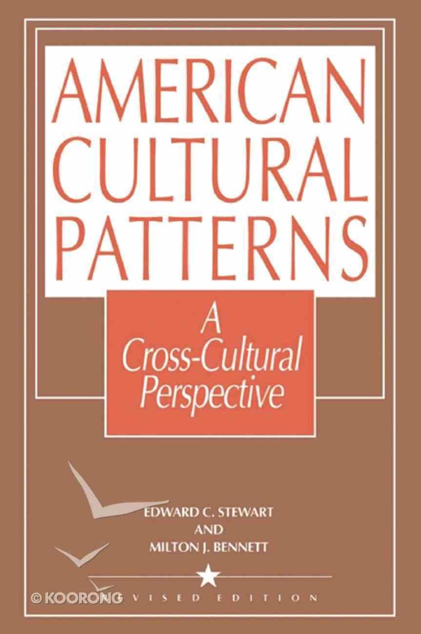 American Cultural Patterns eBook