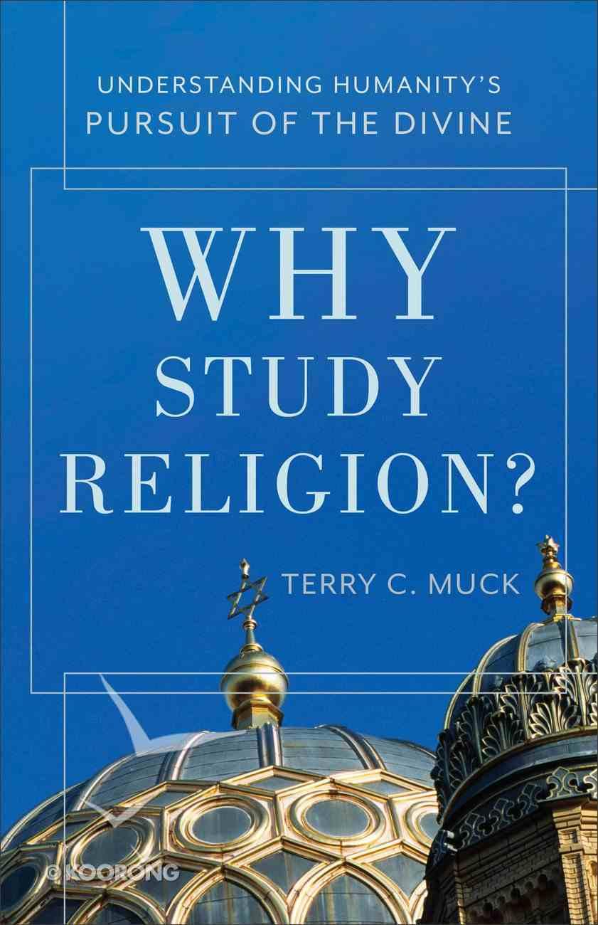 Why Study Religion? eBook
