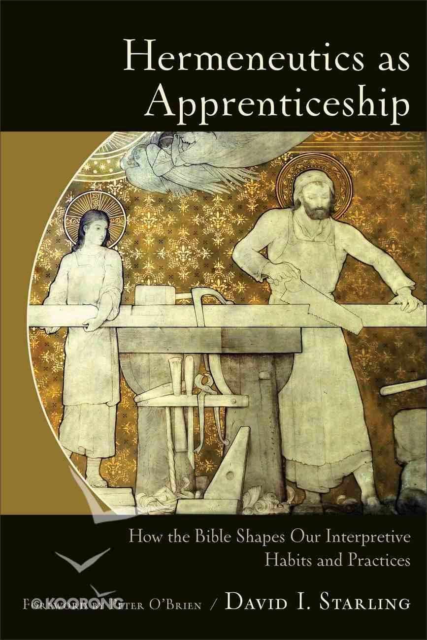 Hermeneutics as Apprenticeship eBook